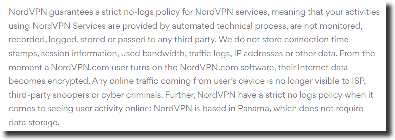Nordvpn-no-logs-policy