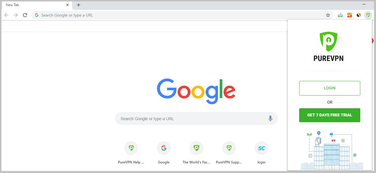 PureVPN-Chrome-extension-user-interface