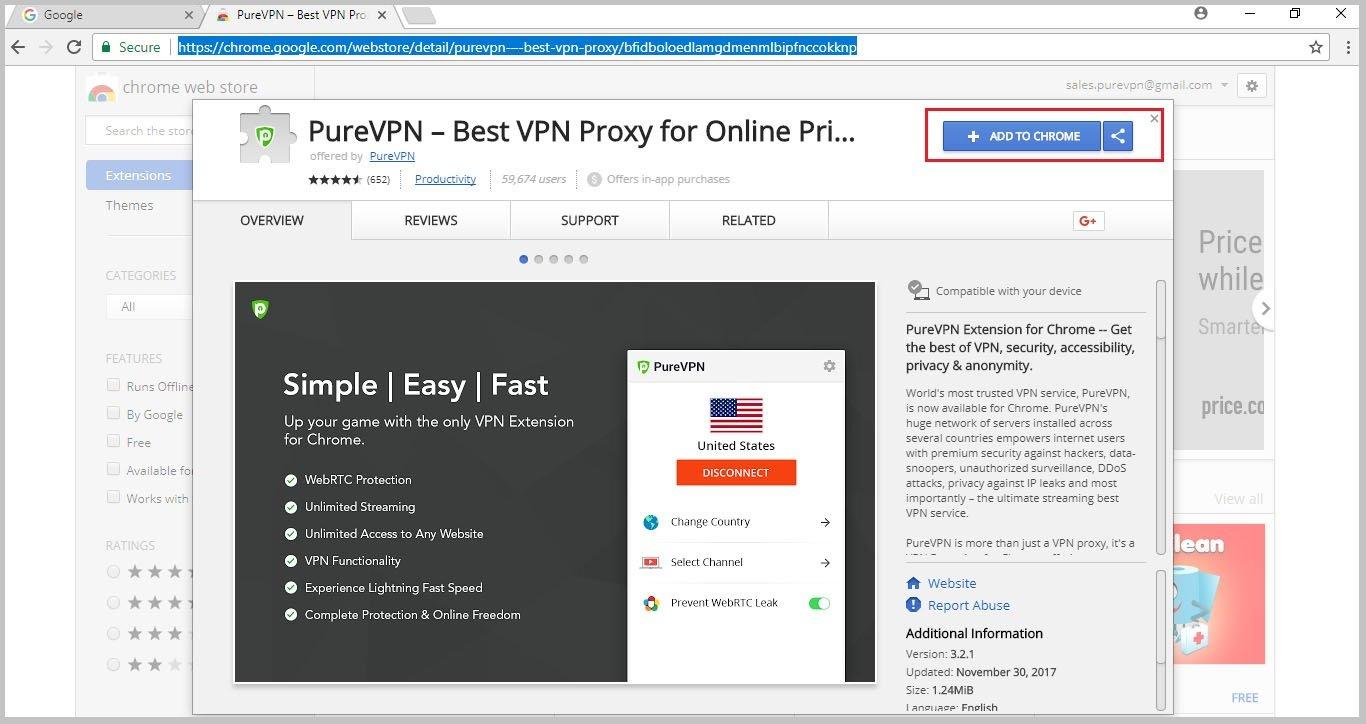 purevpn-extension-on-chrome-web-store