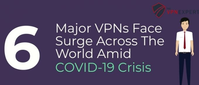 Major VPNs Face Surge Across The World Amid COVID-19 Crisis-infographics