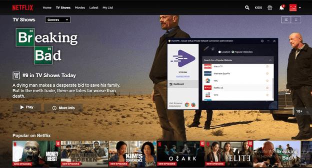 PureVPN Unblocks Netflix