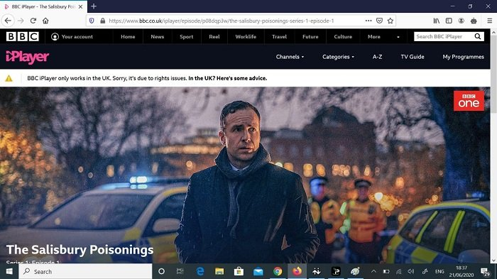 IPVanish unblocks BBC iPlayer