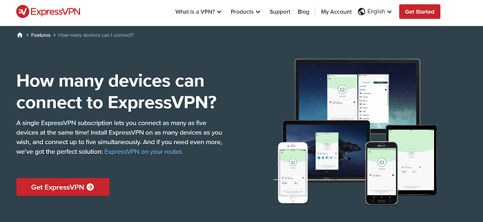 #6 expressvpn 5 multiple connections