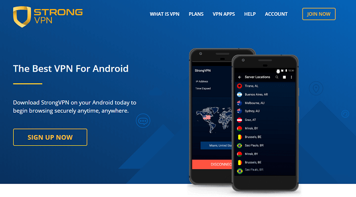 #6 strongvpn android app