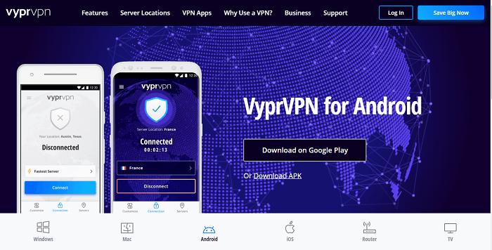 #7 vyprvpn android app