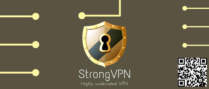 #8 StrongVPN (top VPN service)