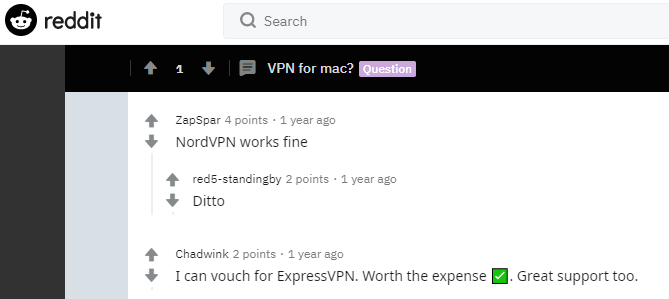 Best VPN for mac Reddit