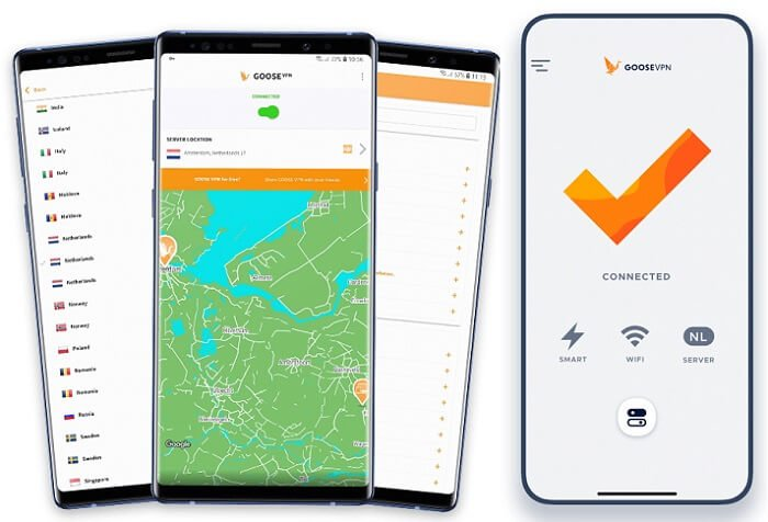 GooseVPN for Android & iOS