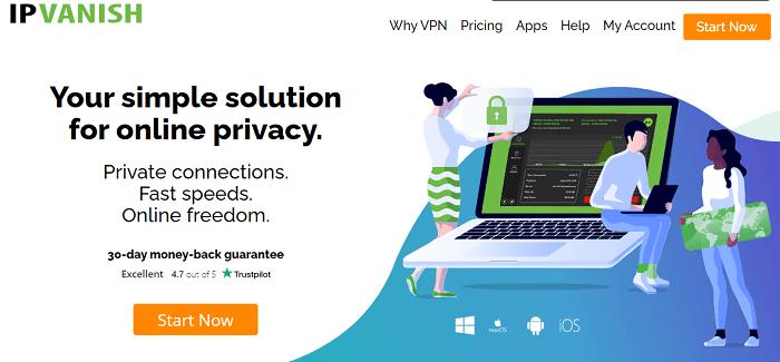 ipvanish vpn for business