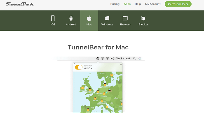 tunnelbear mac vpn