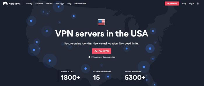 nordvpn usa servers