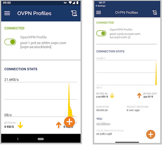 ovpn for android and ios