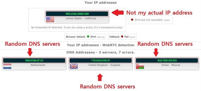 trust.zone passed dns leak