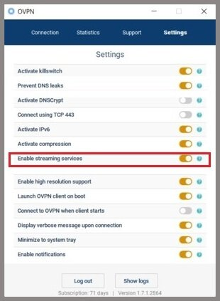 unblock streaming services with ovpn