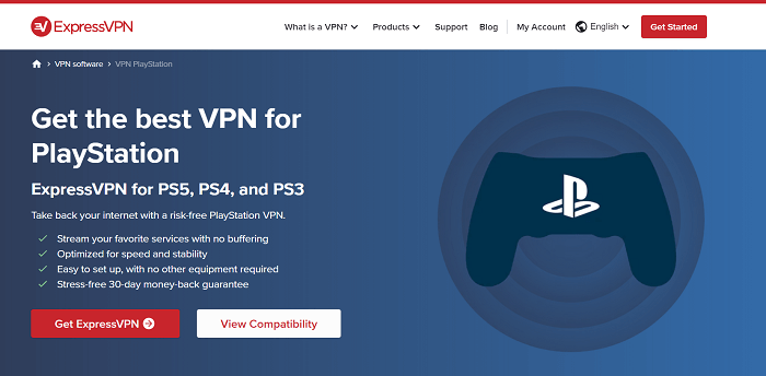 expressvpn for gaming on playstation 4, play station 5