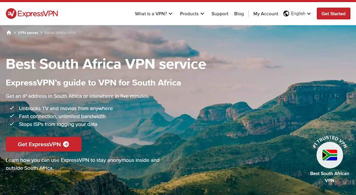 expressvpn south african servers