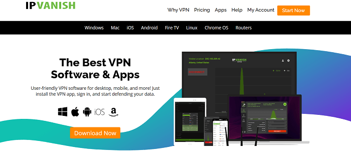 ipvanish vpn for smart tv
