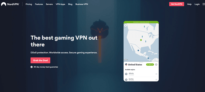 nordvpn for gaming on playstation