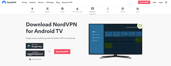 nordvpn for smart tv