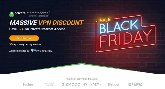 pia vpn black friday discount