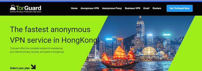 torguard vpn service in hongkong