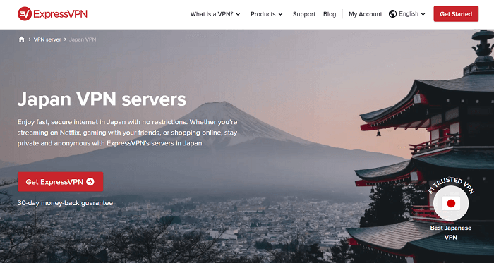 expressvpn for japanese IP