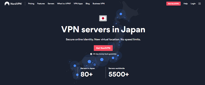 nordvpn servers in japan