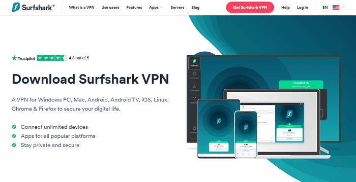 surfshark free netflix vpn