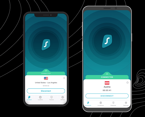 surfshark ios and android app