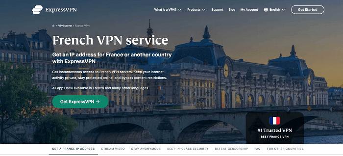expressvpn provides french ip address