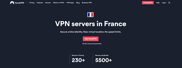 nordvpn france servers